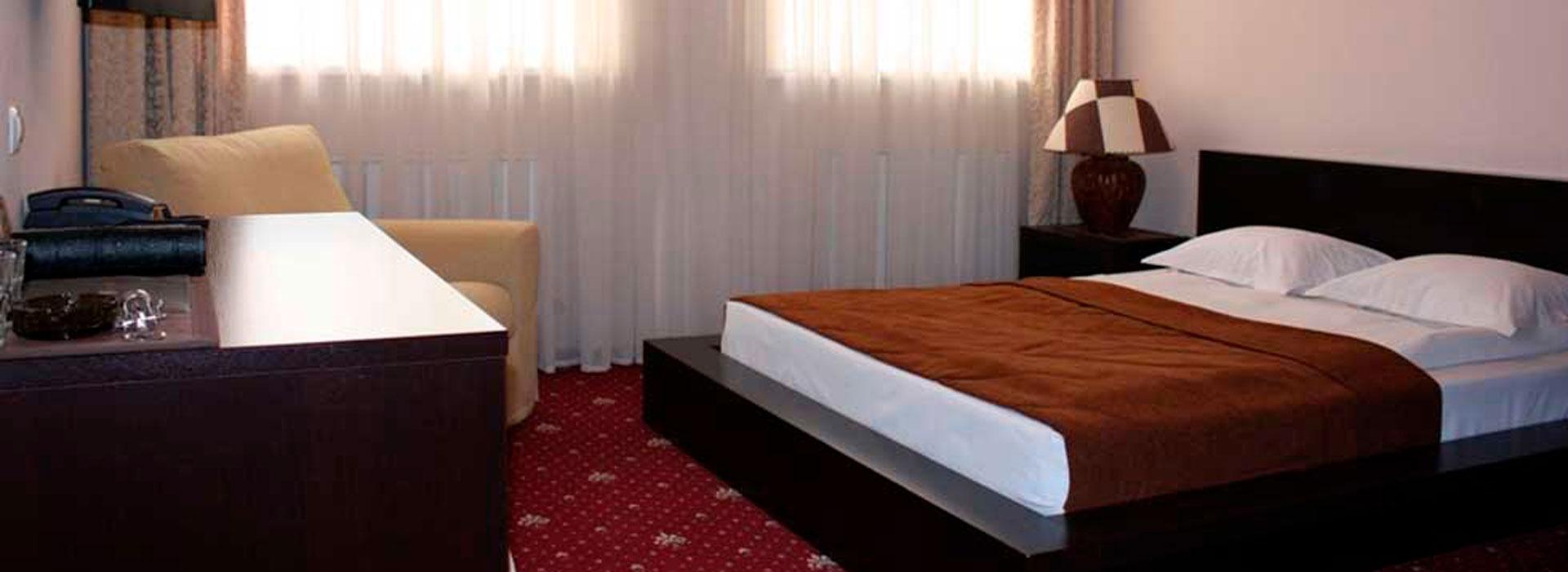 <small>однокомнатный номер с двуспальной кроватью, площадью 22 м2 </small>Стандарт